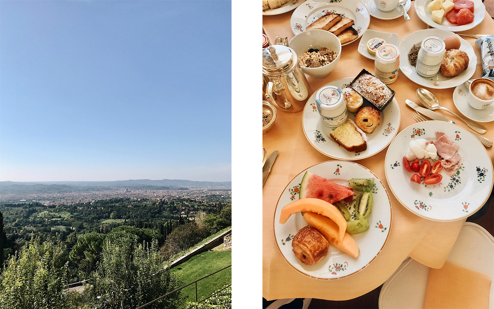 bianca italien frukost
