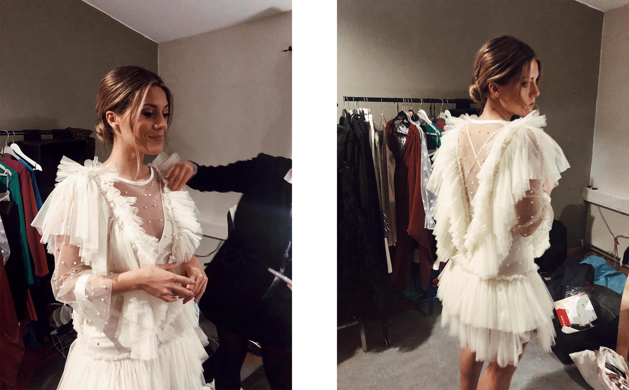 bianca ingrosso vit klänning talang